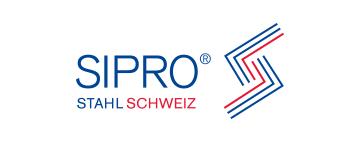 Logo SIPRO® STAHL SCHWEIZ SIPRO® Siderprodukte AG